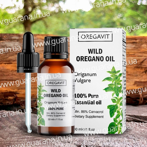 Масло Орегано (Oregano Oil) Carvacrol 86%